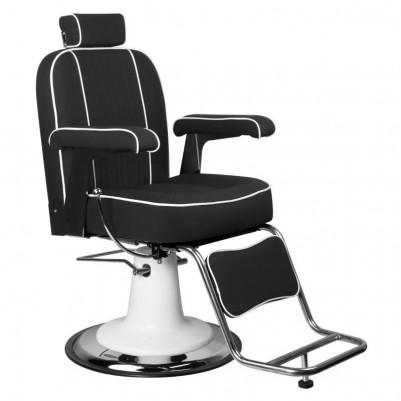 Бръснарски стол Амадео - черен
