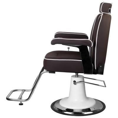 Бръснарски стол Амадео - кафяв