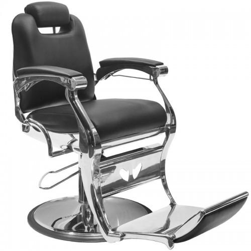 Бръснарски стол Анджело - черен