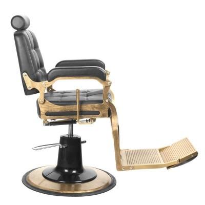 Бръснарски стол Boss - черен