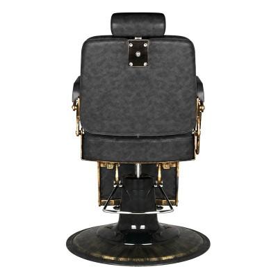 Бръснарски стол Boss - винтидж черно