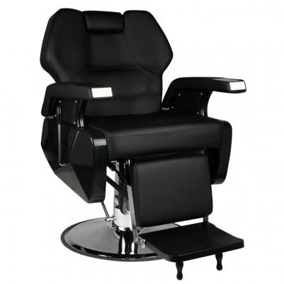 Бръснарски стол Чикаго - черен