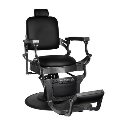 Бръснарски стол Корадо - черен