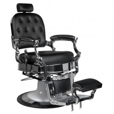 Бръснарски стол Ърнест - черен