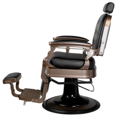 Бръснарски стол Ернесто - черен