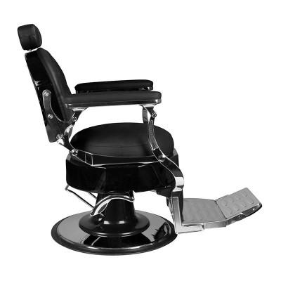 Бръснарски стол Еторе - черен