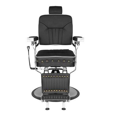 Бръснарски стол Филипо - черен