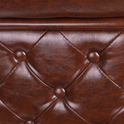 Бръснарски стол Франческо – кафяв