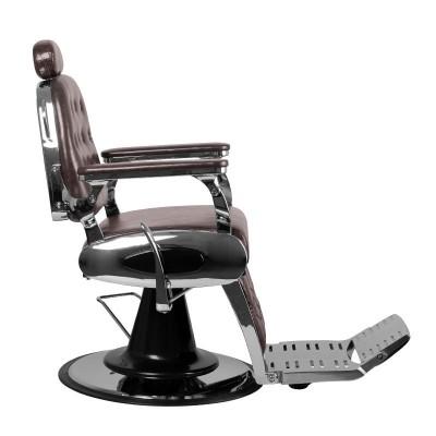 Бръснарски стол Франческо - бургунд