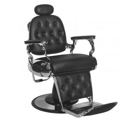 Бръснарски стол Франческо - черен