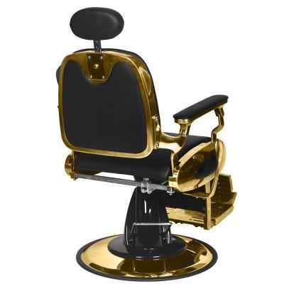 Бръснарски стол Франческо - златно