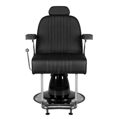 Бръснарски стол Джино - черен