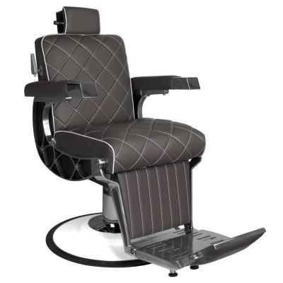 Бръснарски стол Джузепе - кафяв
