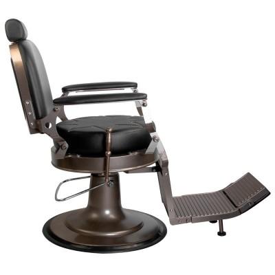 Бръснарски стол Граф - черен