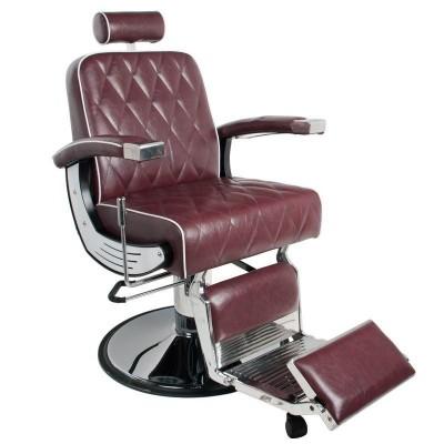 Бръснарски стол Империал - бордо