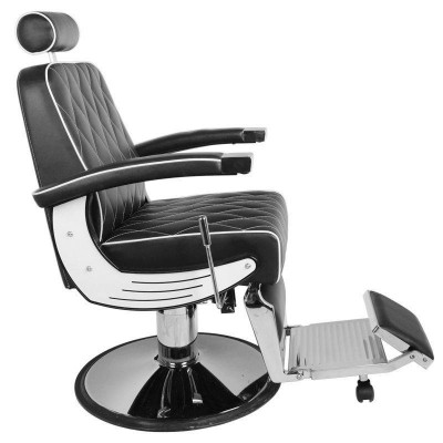 Бръснарски стол Империал - черен