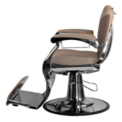 Бръснарски стол Карло - бежов