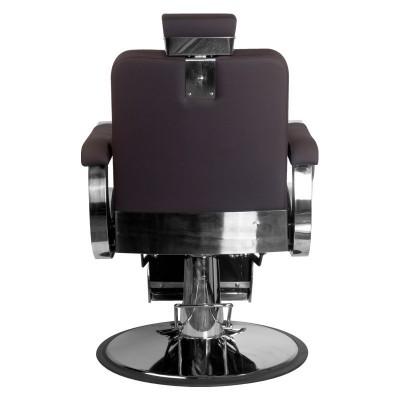 Бръснарски стол Лино - кафяв