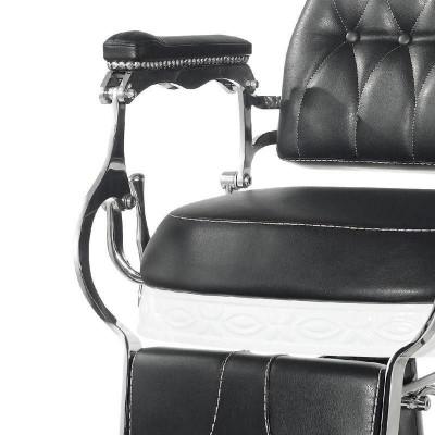 Бръснарски стол Лорд - черен