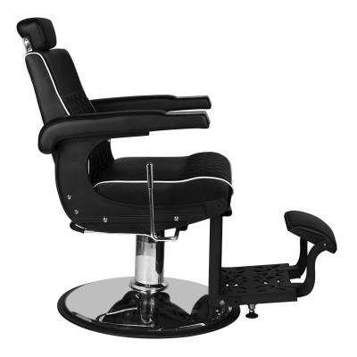 Бръснарски стол Лоренцо - черен