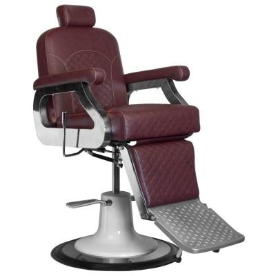 Бръснарски стол Марко - бордо