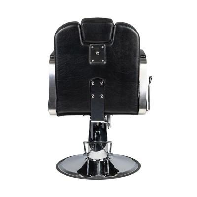 Бръснарски стол Матео - черен