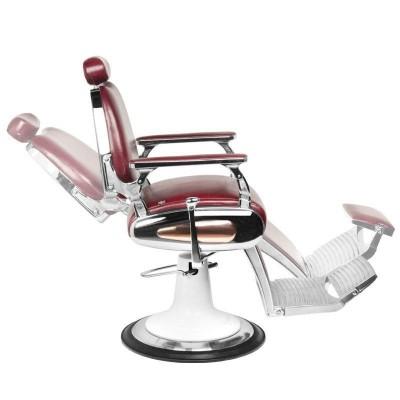 Бръснарски стол Мото - бордо
