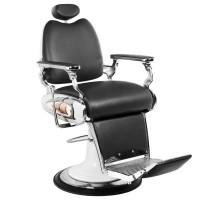 Бръснарски стол Мото - черен