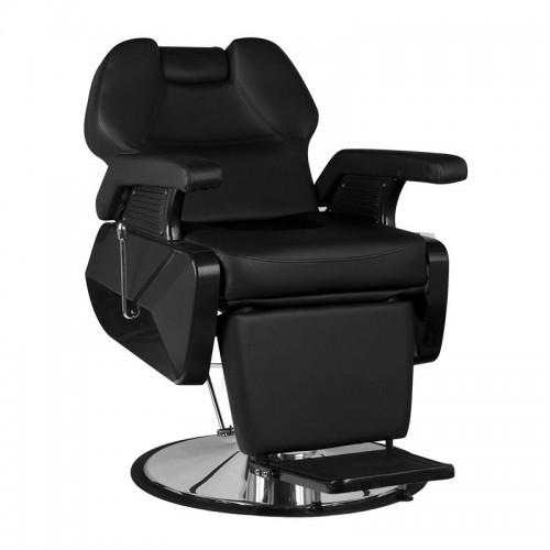 Бръснарски стол Ню Йорк - черен