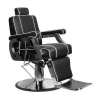 Бръснарски стол Паоло - черен