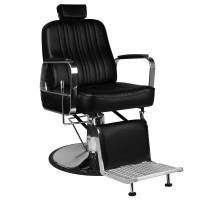 Бръснарски стол Патрицио - черен