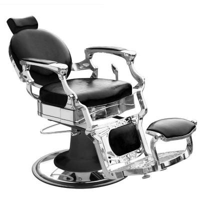 Бръснарски стол Президент - черен