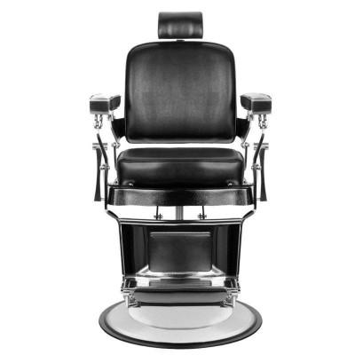 Бръснарски стол Принц - черен
