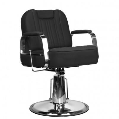 Бръснарски стол Руфо - черен