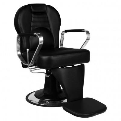 Бръснарски стол Тициано - черен