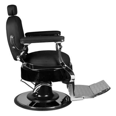 Бръснарски стол Вито – черен