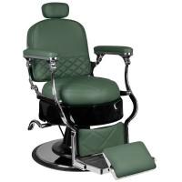 Бръснарски стол Вито – зелен