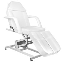 Бял козметичен стол AZZURRO