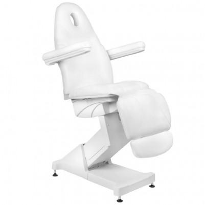 Бял козметичен стол електрически