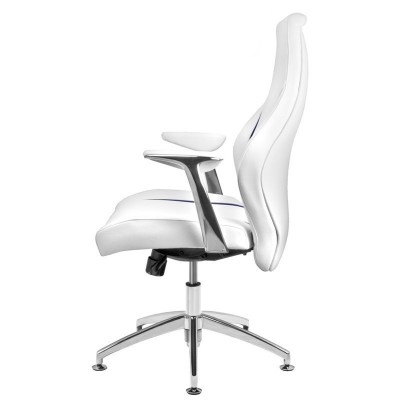 Бял козметичен стол Rico