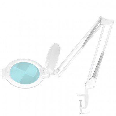 Бяла лампа лупа