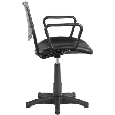 Черен фризьорски стол