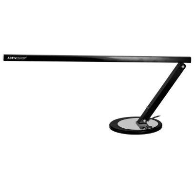 Черна LED алуминиева лампа за бюро