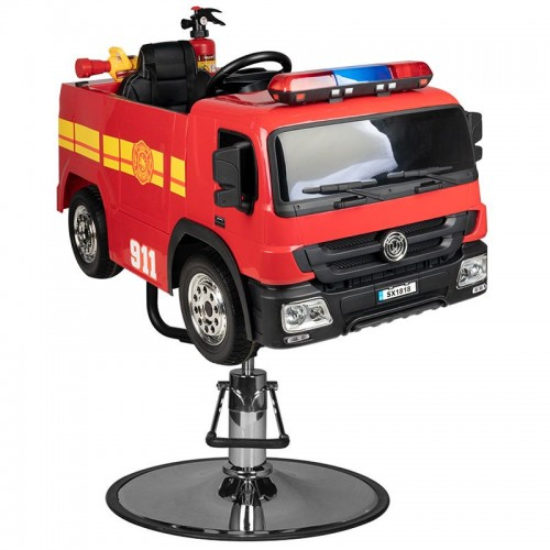 Детски фризьорски стол – пожарна