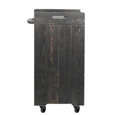 Дървена фризьорска количка