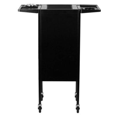 Елегантна фризьорска количка - черна