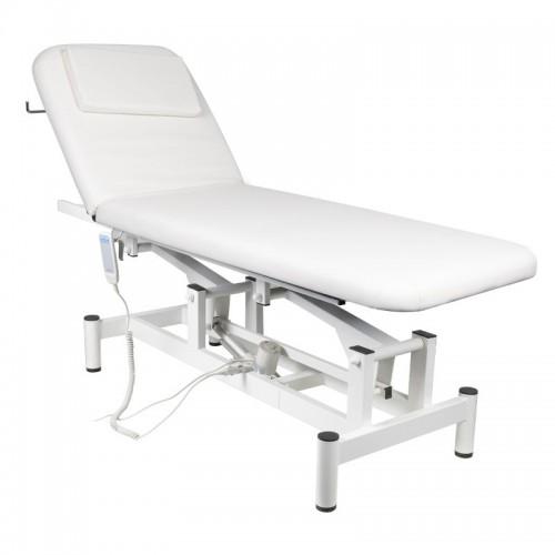 Електрическа масажна кушетка с 1 двигател - бяла
