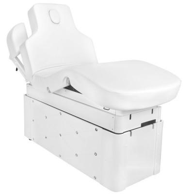 Електрическа масажна SPA кушетка бяла