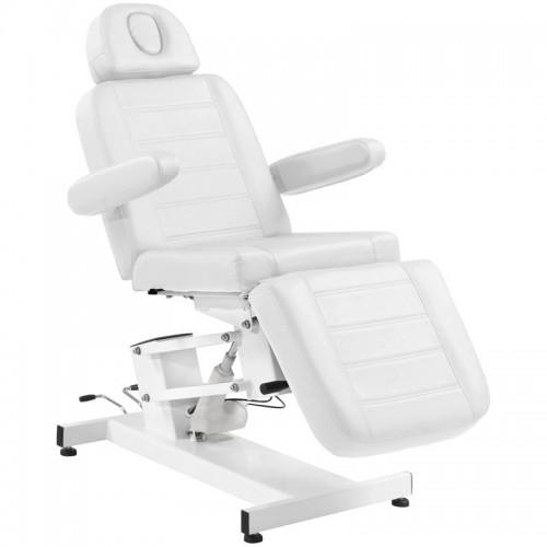 Електрически козметичен стол - бял