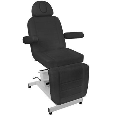 Електрически козметичен стол - черен